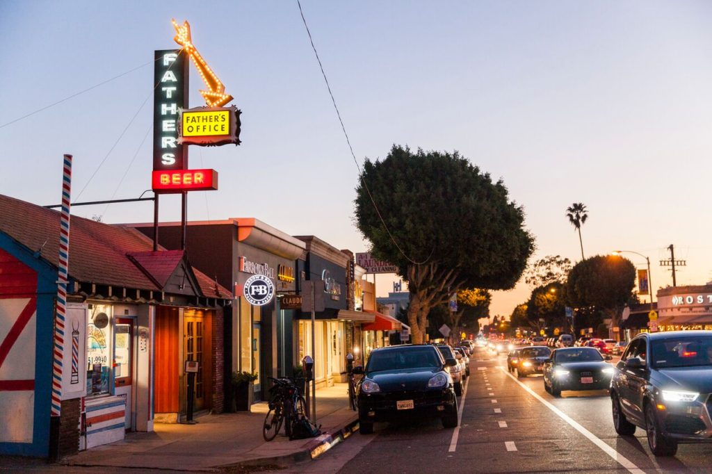 Picture of Father's Office, one of the best Santa Monica restaurants and bars